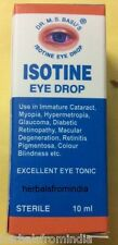6 X ISOTINE EYE DROPS by Dr Basu ayurvedic shipping included