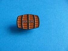 Real Ale Beer Barrel Pin Badge. VGC. Unused.