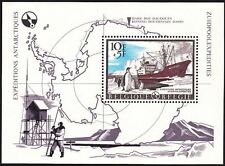 Belgium**ANTARTICA-SHEET-Hergé design-From TINTIN Magazine-1966-Pinguins- Ship