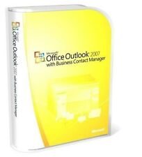 *NEW* Microsoft Office Outlook 2007 *Full Retail* with Business Contact Manager