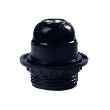 New ES E27 Bakelite Style Screw Light Bulb Lamp Holder Retro Pendant Socket TW