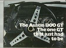AUSTIN 1300 GT SALES BROCHURE AUGUST 1969 FOR 1970 MODEL YEAR