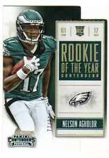 2015 Panini Contenders Rookie of the Year Holo Gold RC /99 #9 Nelson Agholor