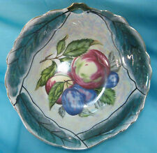 Vintage Signed TRIMONT WARE Japan Irridescent Luster Candy Bowl Dish