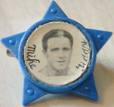 BRIGHTON & HOVE ALBION  Player Michael ( MIKE ) TIDDY 1958-62 Rare STAR Badge
