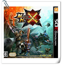 3DS Nintendo MONSTER HUNTER X Action Capcom