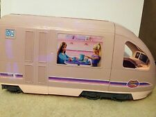 2001 Barbie Travel Vehicle Playset With Sounds, Electronic Moving Window Scenery