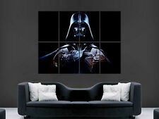 DARTH VADER STAR WARS   HUGE LARGE WALL ART POSTER PICTURE BIG
