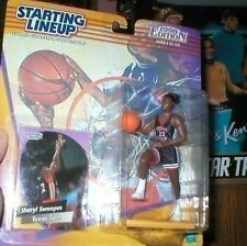 SHERYL SWOOPES 1998 STARTING LINEUP MOC