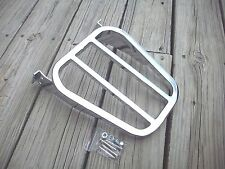 Chrome Tapered Luggage Rack for Softail Sportster and Dyna Model Harley Davidson