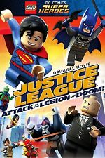 LEGO DC Super Heroes: Justice League: Attack of the Legion of Doom! (DVD, 2015)