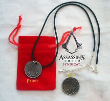 Assassins Creed Syndicate Promo One Shilling Coin Necklace Pendant Medallion