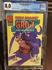 Groo The Wanderer ('82) #1 CGC 8.0 White pages
