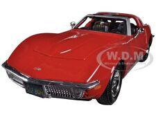 1970 CHEVROLET CORVETTE RED 1/24 DIECAST CAR MODEL BY MAISTO 31202