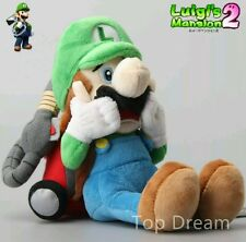 LUIGI'S MANSION PELUCHE - 25Cm. - Super Mario Bros. Doll Plush Luigi Pupazzo
