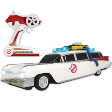 "NEW Highly Detailed 14"" Ghostbusters ECTO-1 Remote Control Cadillac Ambulance"