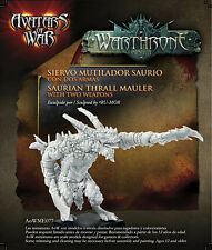 Avatars of War BNIB Saurian Thrall Mauler with Two Weapons AOW77