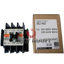 FUJI NEW SC-N2 SCN2 200-240VAC PLC MAGNETIC CONTACTOR ELECTRIC