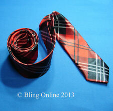 NOVELTY NECK TIE UNION JACK FLAG SPIDER TARTAN PIANO PRIDE CHECK MUSIC NOTE LEAF