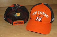 TONY STEWART #14 STEWART - HAAS RACING ADJUSTABLE MESH BACK HAT CAP - RETIRED