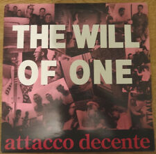 """Attacco Decente, The Will Of One 12"""", All For Nothing!"""