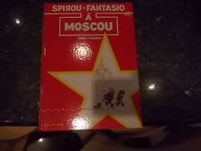 belle reedition spirou et fantasio a moscou