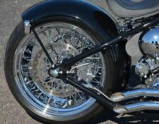 "Ultima Chrome Billet 18"" X 8.5"" 60 Spoke Rear Wheel Harley Custom 250 Wide Tire"