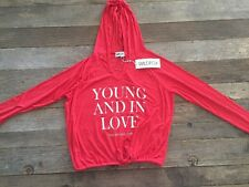 NWT WILDFOX Hang Out Hoodie Size XS Ariel Red