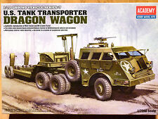 Academy 1:72 M26 Dragon Wagon U.S Tank Transporter Model Kit