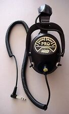 Sun Ray Pro Gold Metal Detecting Headphones, 150 Ohms, Free Shipping & Handling