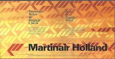 Martinair Holland ticket jacket wallet [6124] Buy 4+ save 50%