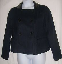 American Eagle Outfitters Size XL Black Coat with Sequined Collar