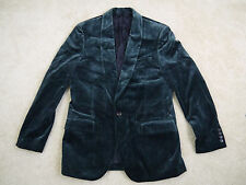 $298 J.Crew Ludlow shawl-collar blazer in velvet Green 40R Item 22273 NWOT!