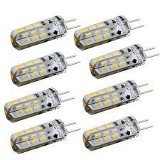 8 Stueck G4 24 3014 SMD LED Beleuchtung Lampe Spot Strahler 1,5W DC 12V Weiss GY