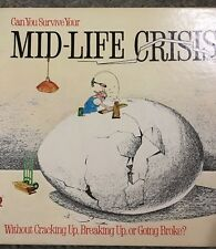 VINTAGE 1982 BOARD GAME Mid Life Crisis Game THE GAME WORKS Adult games