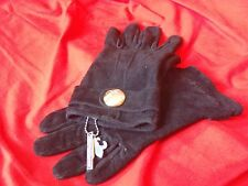 Friis & Company // Women's Leather Gloves // Black // New // Size L