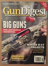 Gun Digest Big Guns Winter DIY Projects Firearms For Sale Jan 2015 FREE SHIPPING