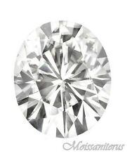 Loose Oval Genuine 9x7mm Moissanite = 2 CT Diamond