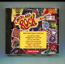 I Miti del Rock n.70 # EAGLES & LITTLE FEAT-TAKE IT EASY # Fabbri 1993 # CD Rock