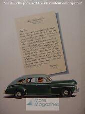RARE Esquire Advertisement AD 1941 GREEN OLDSMOBILE HYDRA MATIC drive!