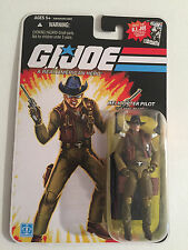 "G.I. Joe Helicopter Pilot Wild Bill 4"" Figure 2007 GI Joe Comic Series"