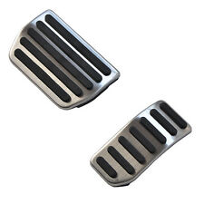 NON-Drill AT accelerator Fuel Brake Pedals Plate Pads for VOLVO XC60