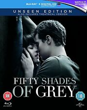 50 Shades of Grey   Unseen Edition    **Brand New Blu Ray**