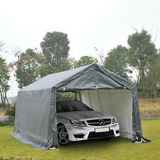 Outsunny 20x12ft Carport Canopy Party Tent Storage Shelter Garage w/ Sidewall