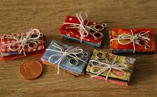 Stoffpaket Schere Miniatur 1:12  Zubehör Puppenstube Diorama