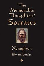The Memorable Thoughts of Socrates by Xenophon (2010, Paperback)