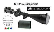 Trinity 10-40x50 AO w/Rings Tri-Illuminated Fits Weaver & Picatinny Rails