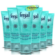 6x Fenjal Protection Care Vitamin E Hand Moisturising Soft Creme Cream 50ml