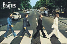 Beatles - ABBEY ROAD Movie Poster Single Sided 24X36 inches