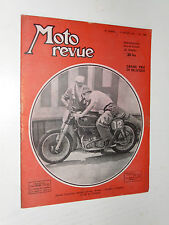 MOTO REVUE N°1094 1952 CARBURATEUR DELL'ORTO SPA 52 DUKE 350 MONTREUIL
